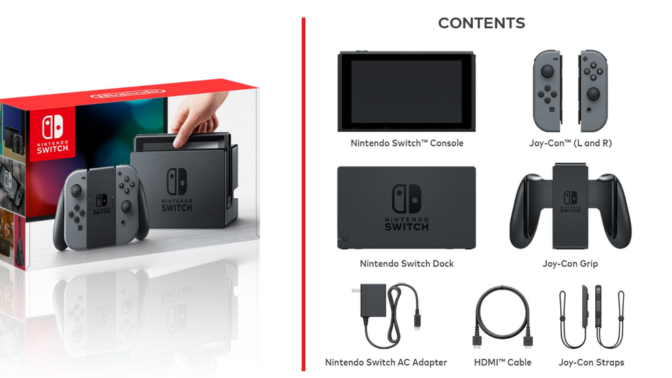 A closer look at the Nintendo Switch.