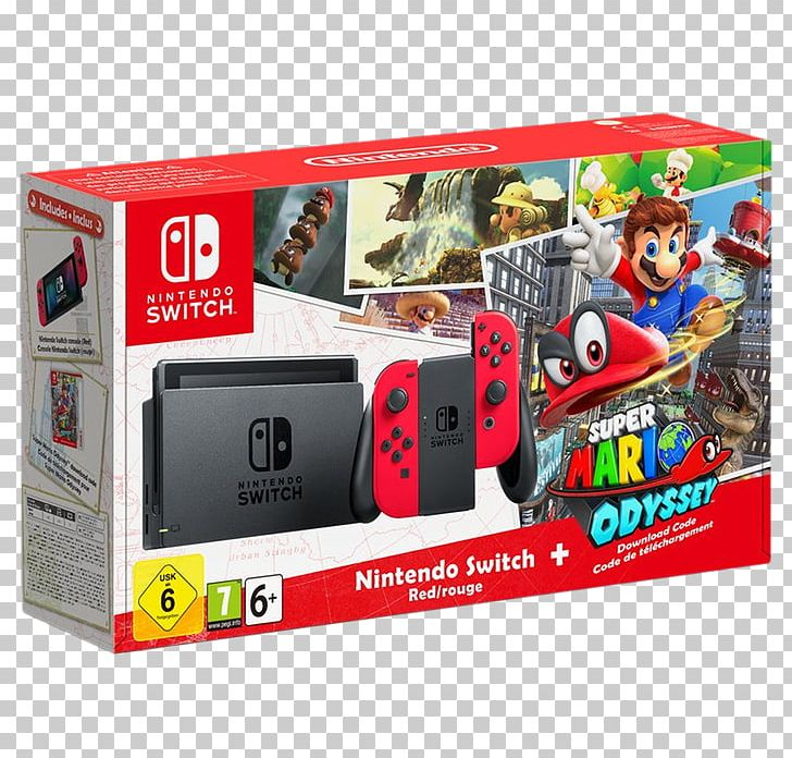 Super Mario Odyssey Nintendo Switch Video Game Consoles PNG.