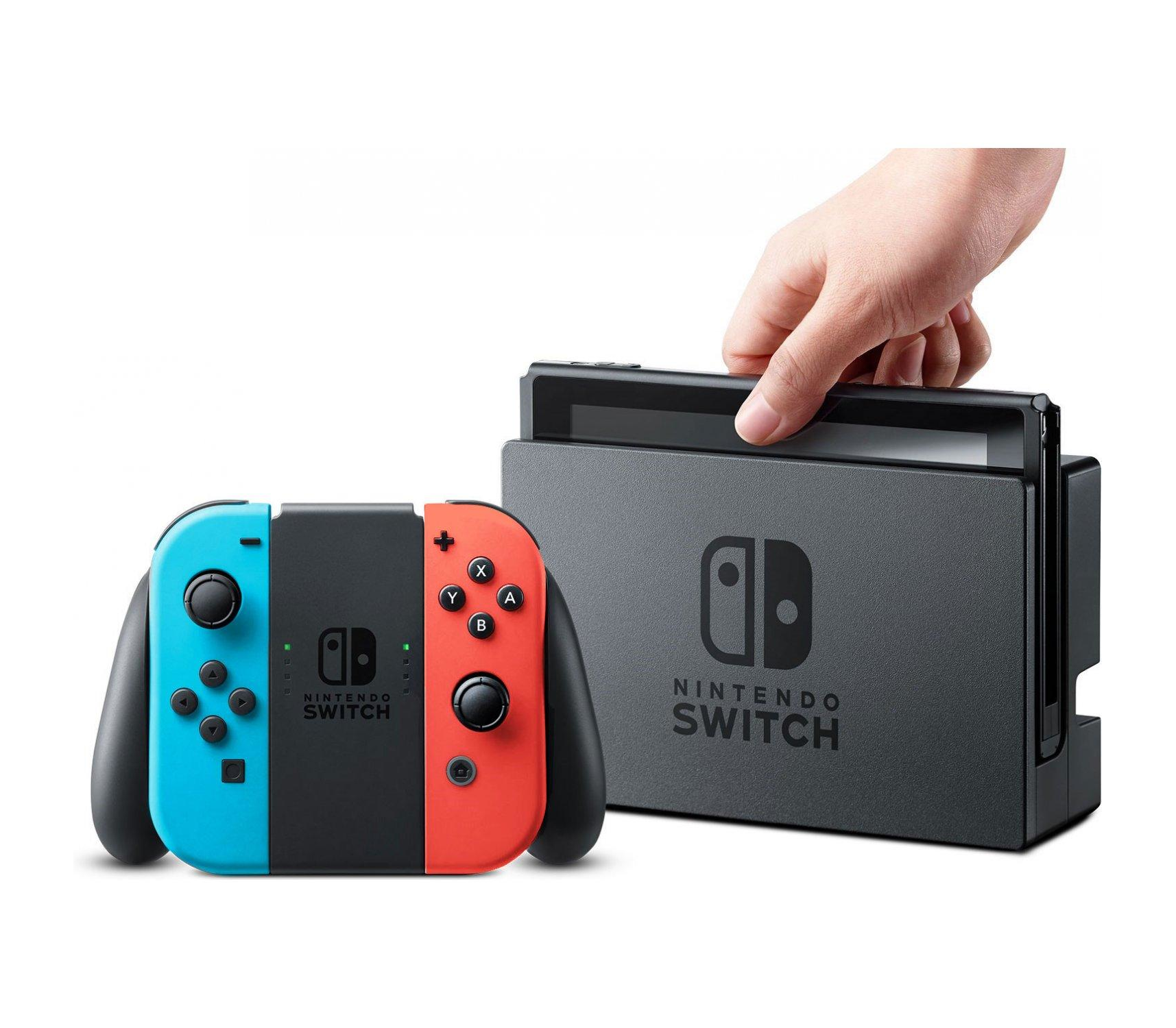 NINTENDO SWITCH CONSOLE SYSTEM.