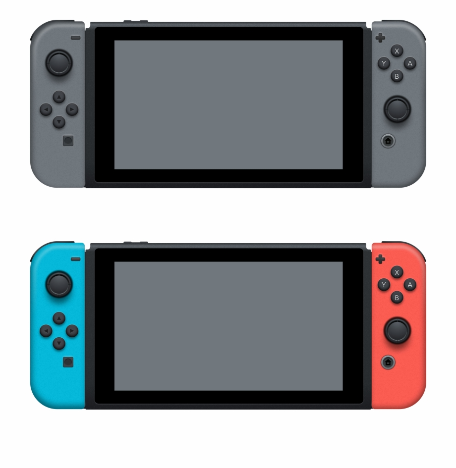 Nintendo Switch Console Png.