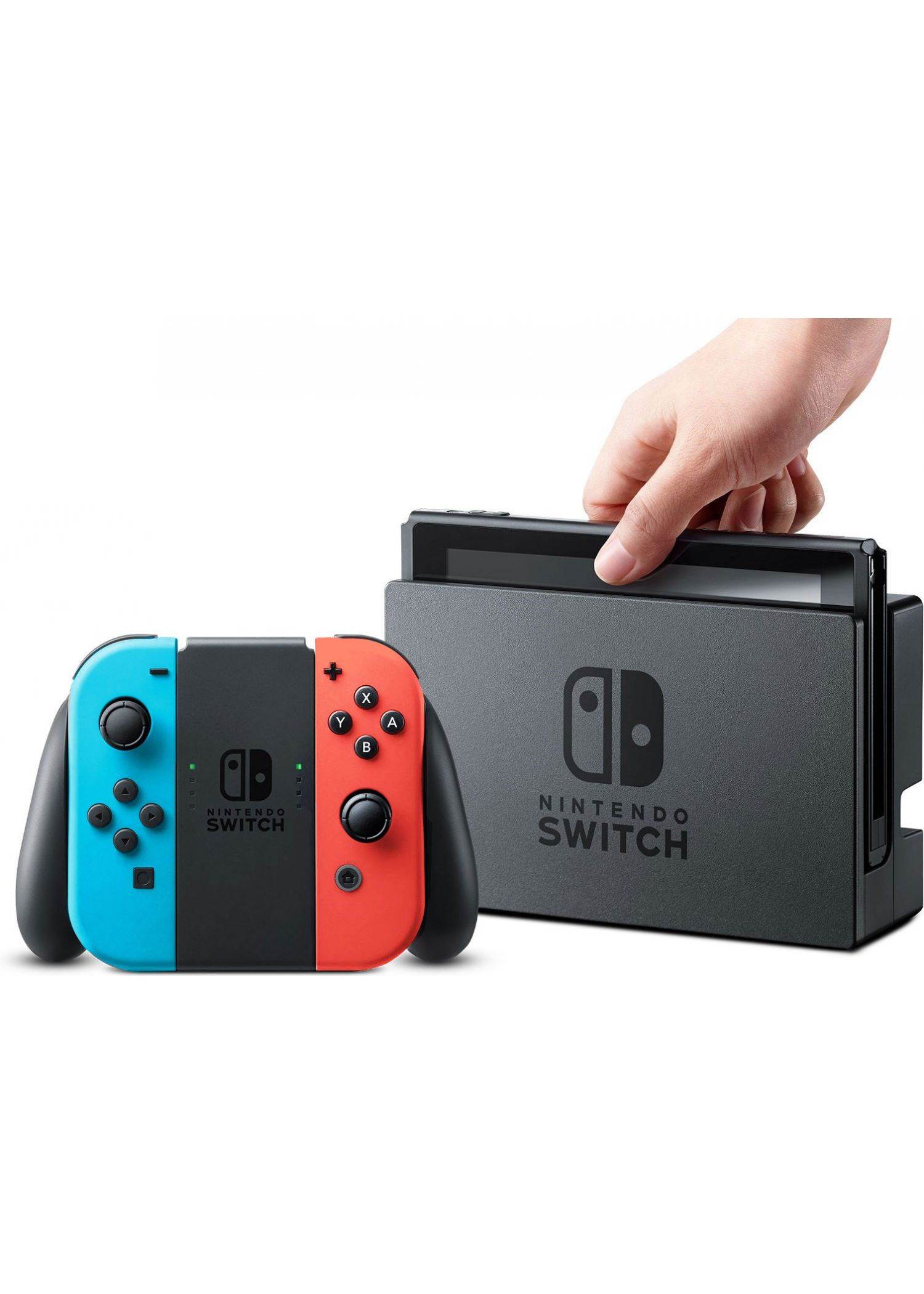 NSW NINTENDO SWITCH (NEON BLUE / NEON RED) (AS).