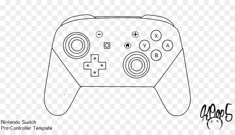Switch pro controller clipart clipart images gallery for.
