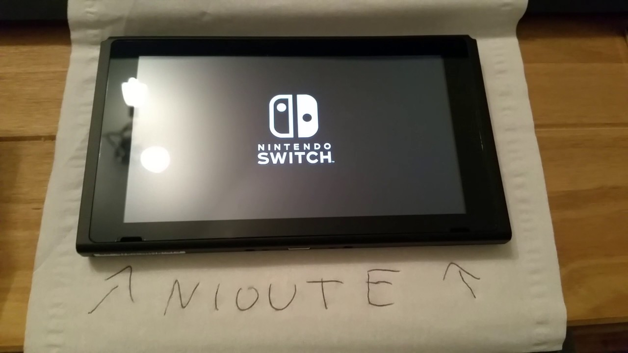 Nintendo Switch boot freeze apres patch day one.