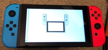 Switch repairs (stuck on joy con screen, have replaced fan.