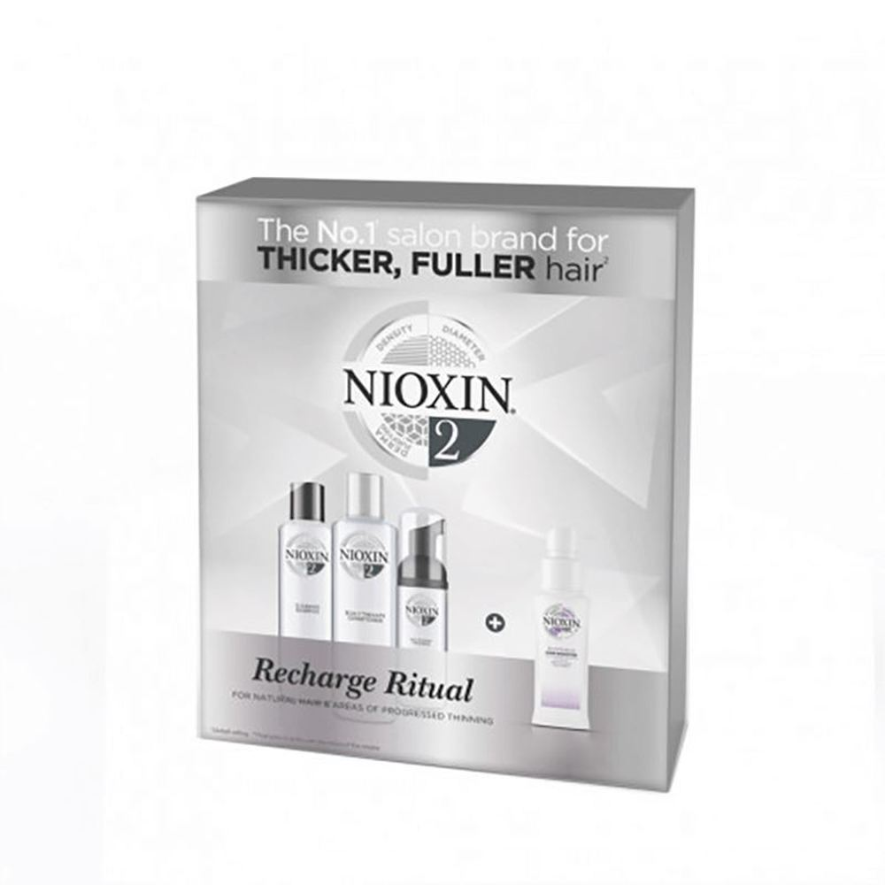 Nioxin Recharge Rituals System 2 Gift Set.