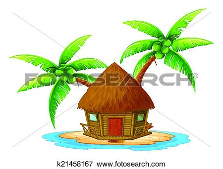 Nipa hut Clip Art Illustrations. 49 nipa hut clipart EPS vector.