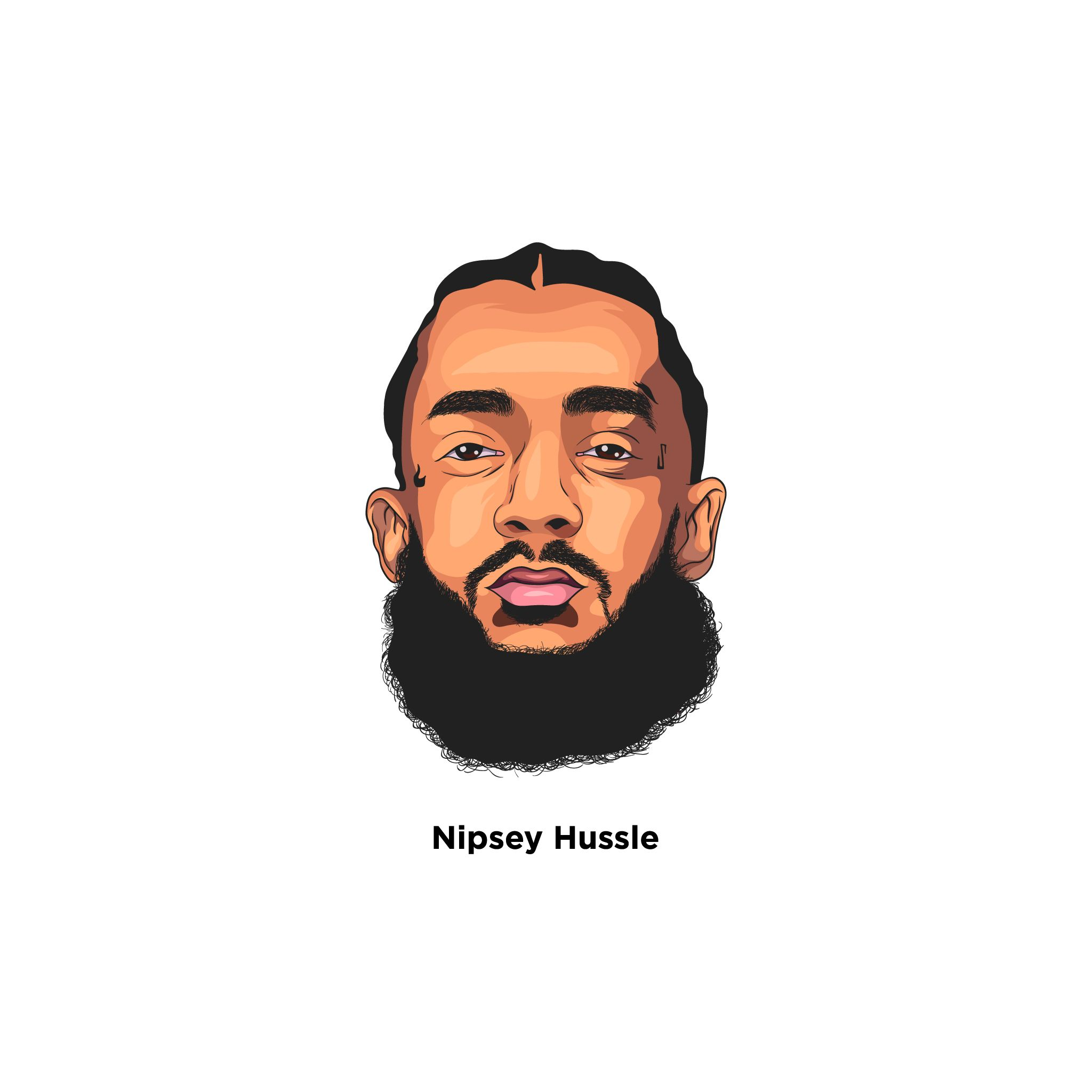 Tribute of Nipsey Hussle. #restinpeace.