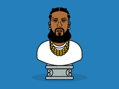 Nipsey Hussle designs, themes, templates and downloadable.