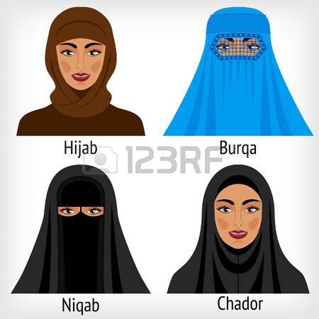 163 Niqab Cliparts, Stock Vector And Royalty Free Niqab Illustrations.