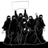 Niqab Stock Illustrations.