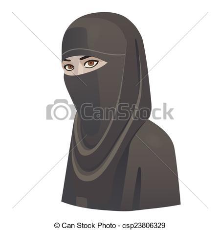 Niqab Illustrations and Clipart. 79 Niqab royalty free.