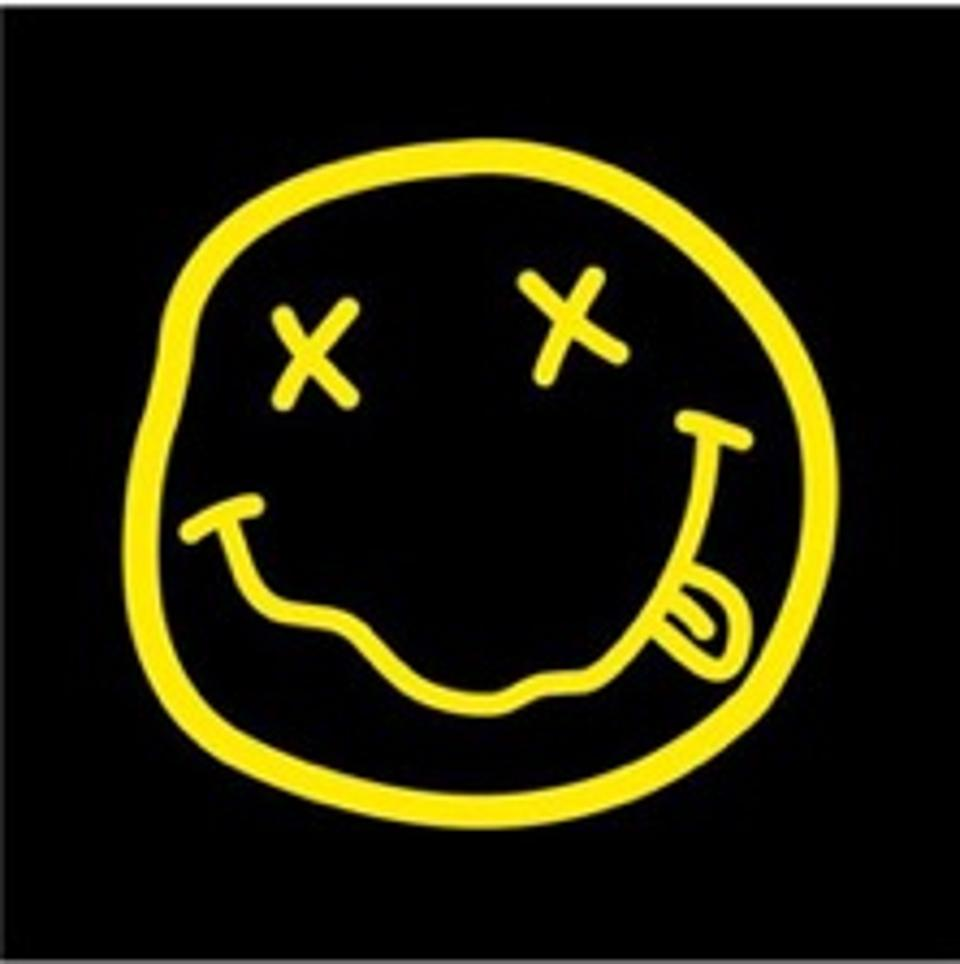 Nirvana\'s Happy Face Logo: Who Owns It? The Band\'s Marc.