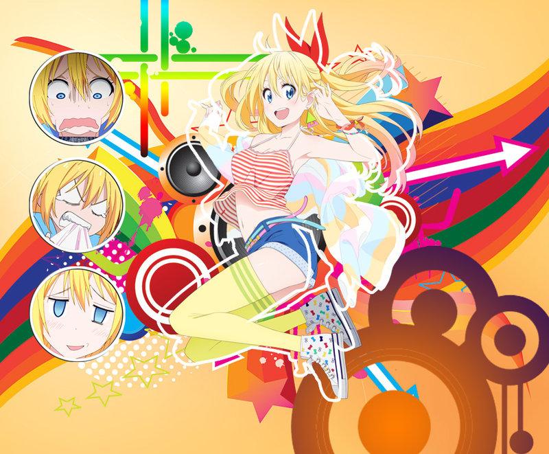 Nisekoi~ Chitoge Retro Wallpaper by fakhrilm on DeviantArt.