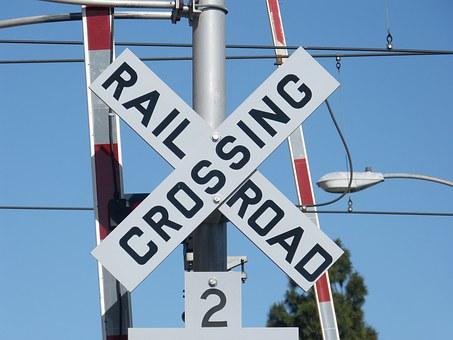 Free photo Railroad Crossing Train Nishi Kokubunji.