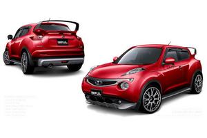 Impul Nissan Juke Red.