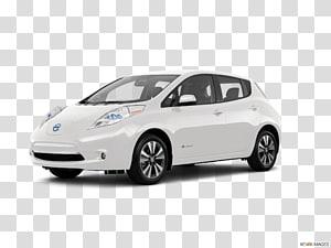 2018 Nissan Leaf Sl transparent background PNG cliparts free.