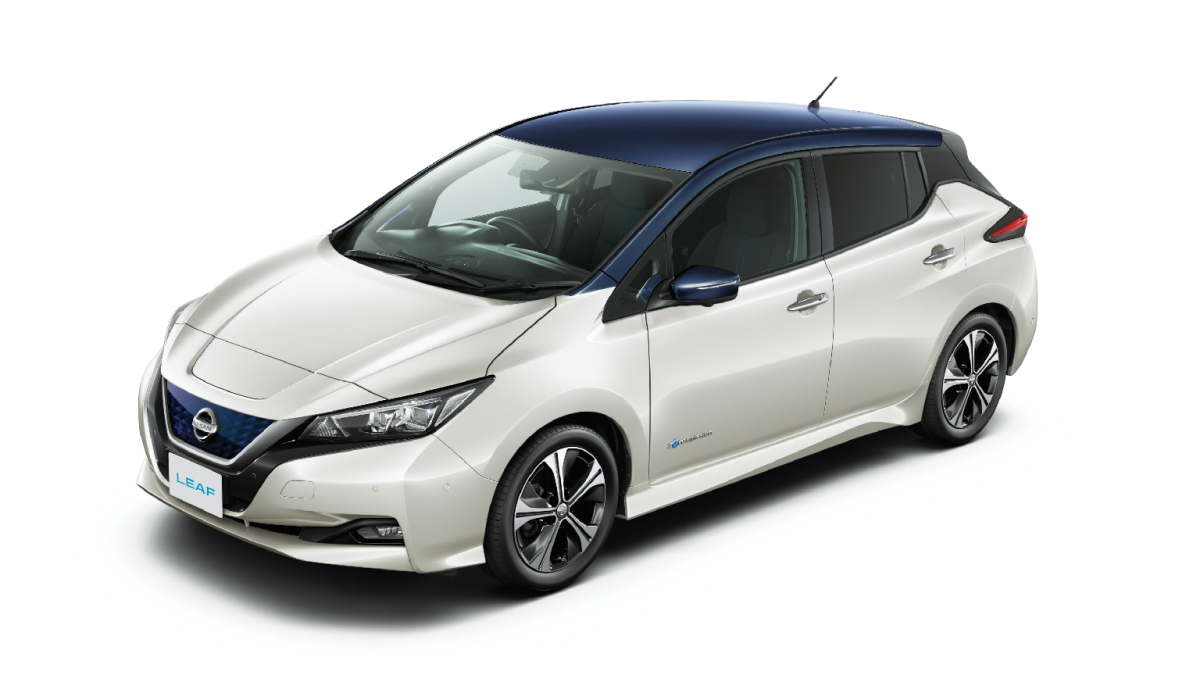 Nissan Unveils New LEAF.