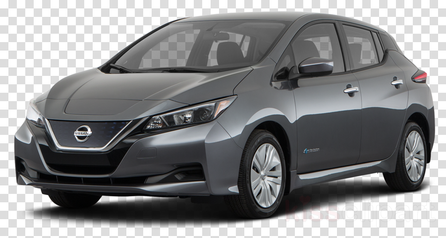Nissan Leaf clipart.
