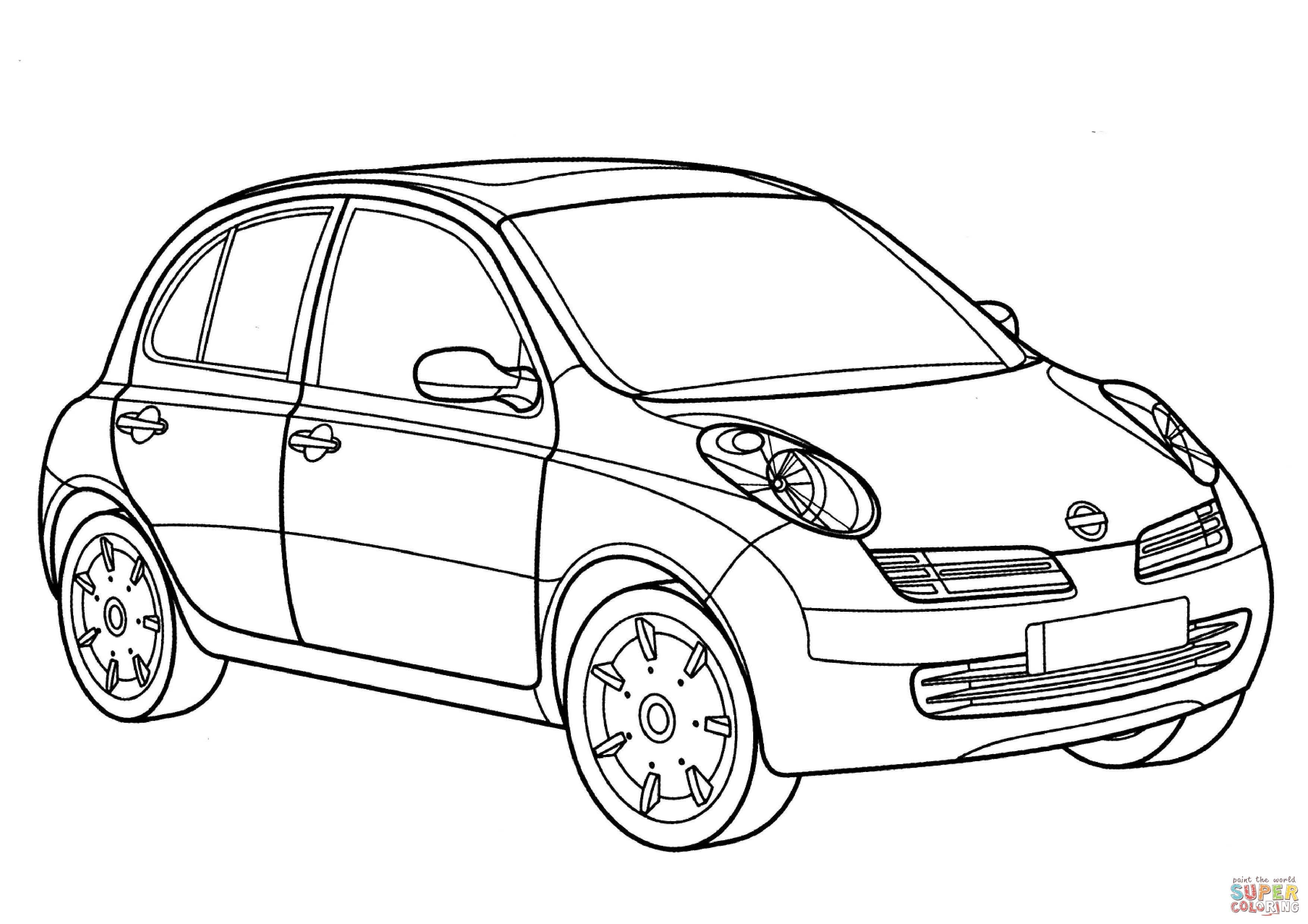 Nissan Car Clipart.