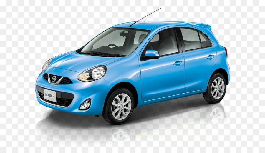 Nissan Micra Car png download.