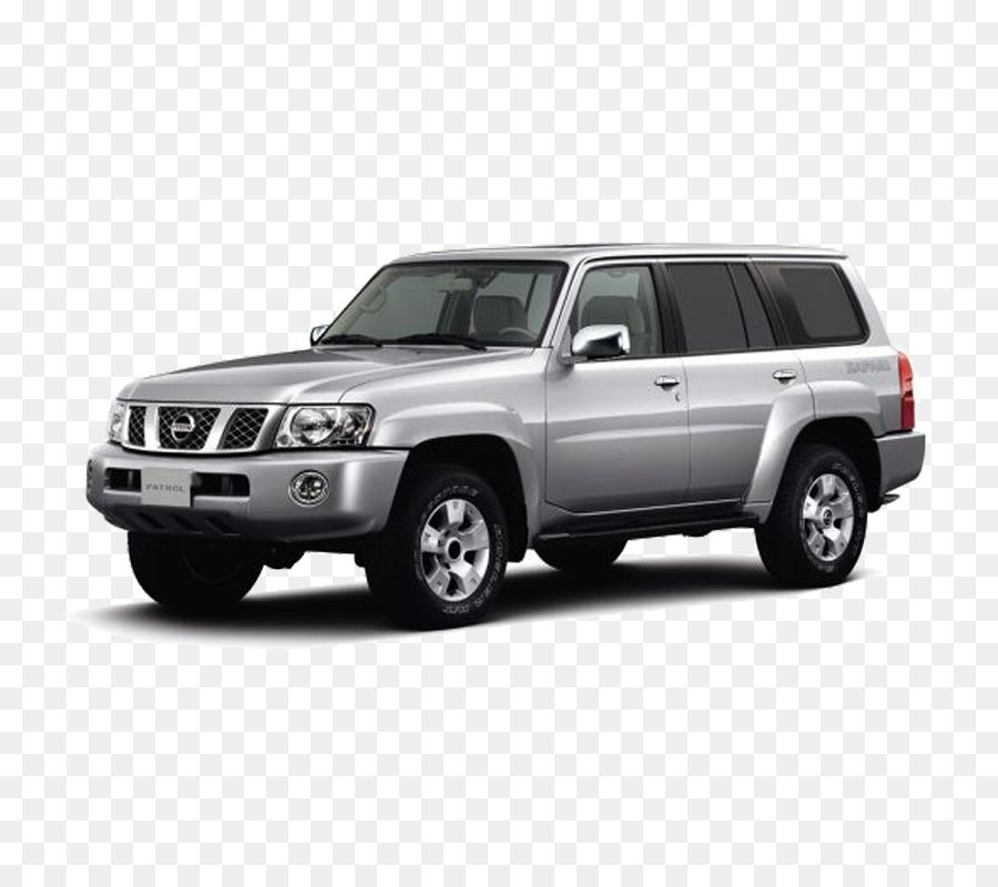 Nissan Patrol Model Car png download.
