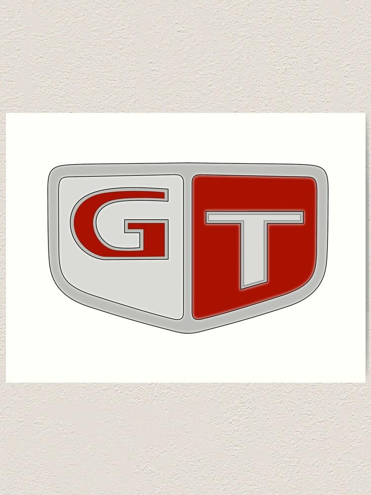NISSAN N カ ン ン (NISSAN Skyline) GT logo.