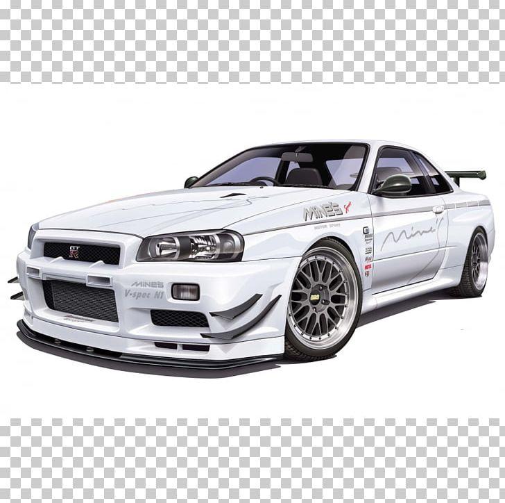 Nissan Skyline GT.