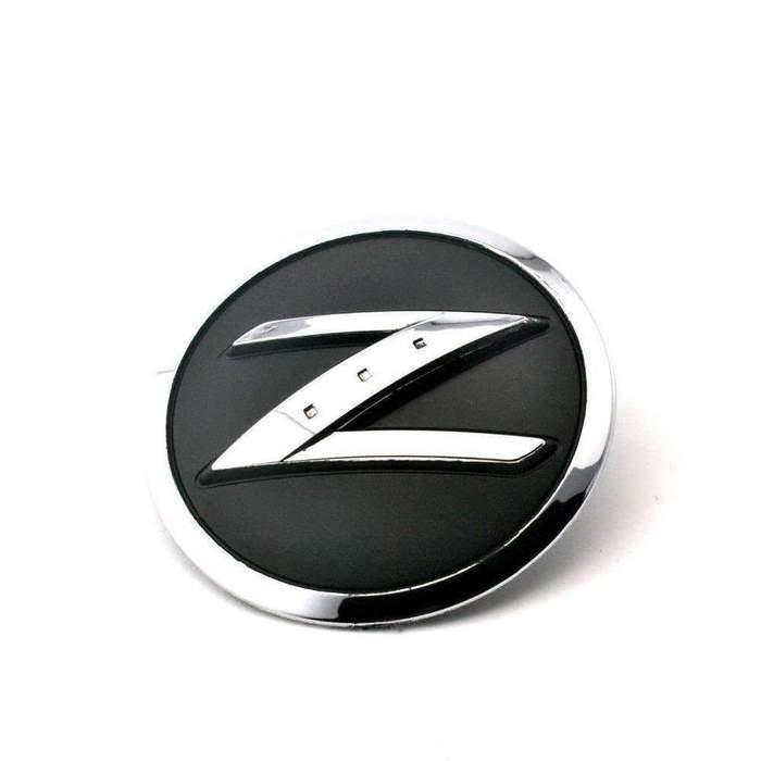Nissan Z Logo Black Emblem Sticker.