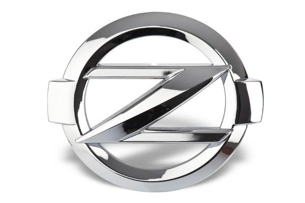 Z Emblem Chrome.