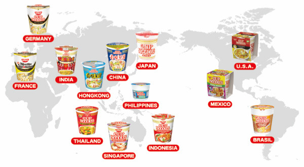 A Landmark 40 Billion Cup Noodles Consumed Worldwide.