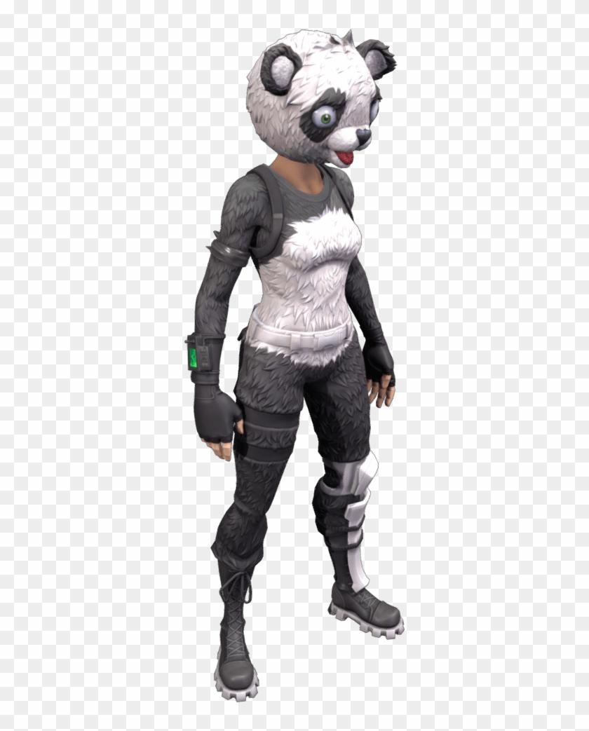 Panda Skin Fortnite Outfit.