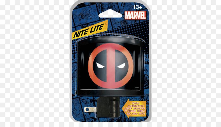 Superhero Deadpool Antihero Nightlight.