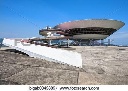 """Picture of """"Niteroi Contemporary Art Museum, Niteroi, Rio de."""