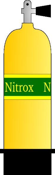 Nitrox Scuba Tank clip art Free Vector / 4Vector.