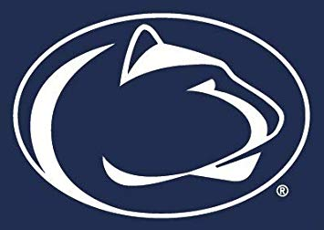 Amazon.com: 5 Inch Penn State Logo Decal Flag Nittany Lions.