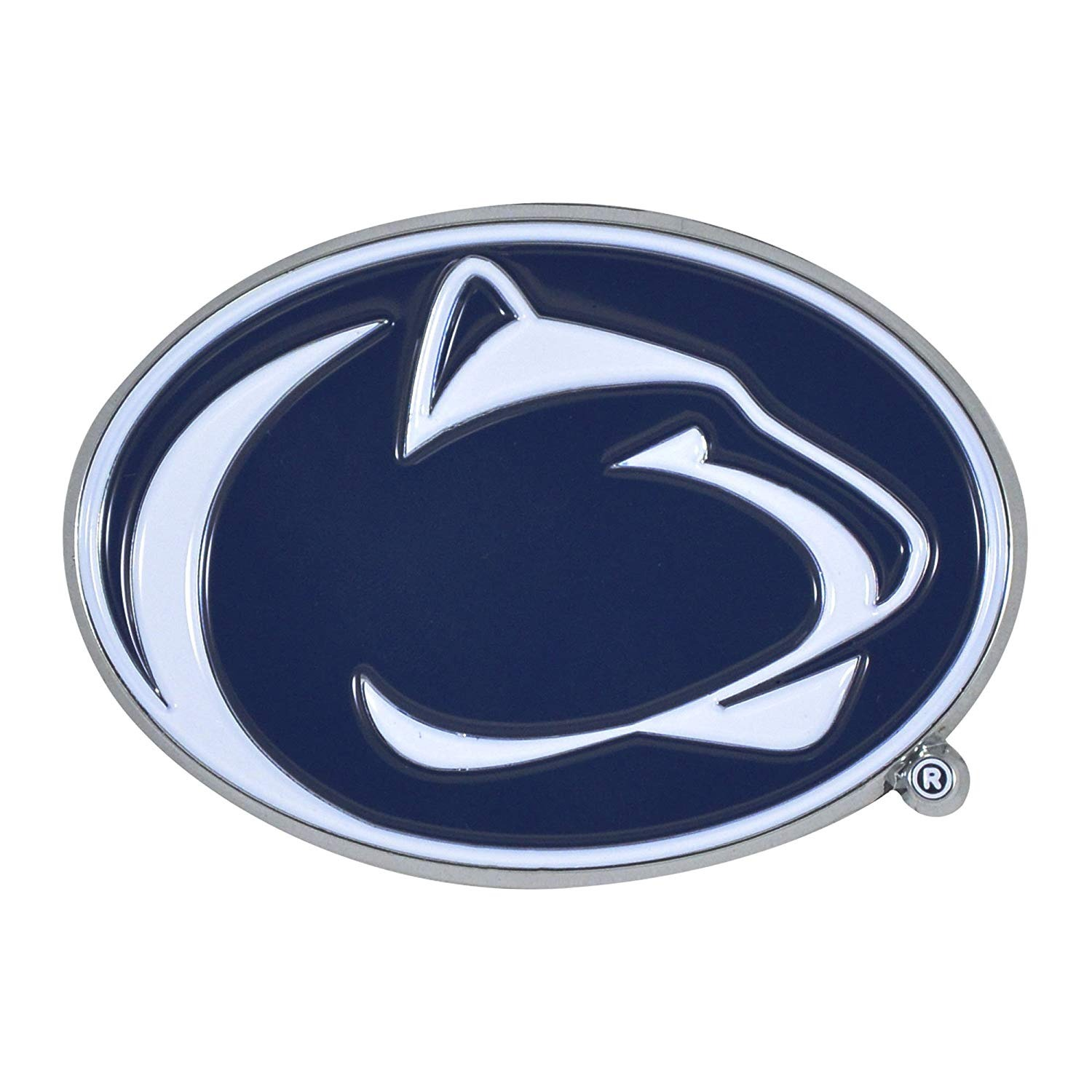 Details about Penn State Nittany Lion Premium Solid Metal COLOR Auto Emblem  Decal University.