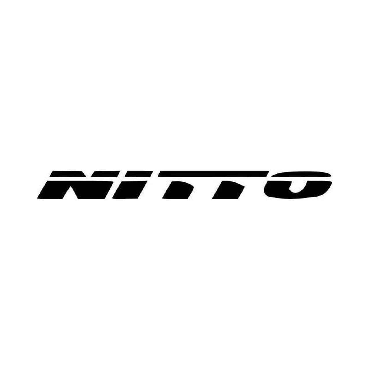 Nitto Tires Vinyl Decal Sticker.