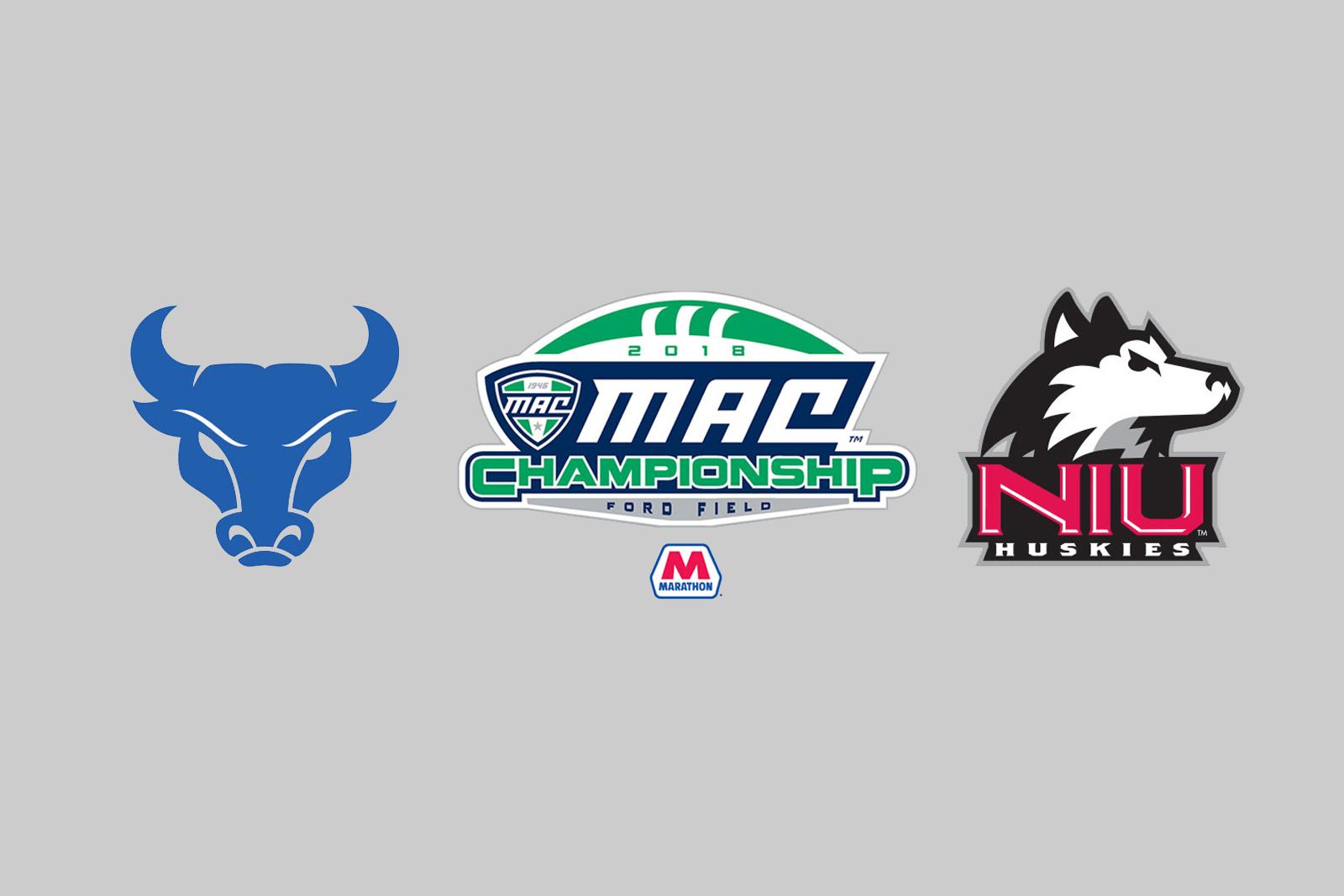 2018 MAC Championship Game: NIU vs. Buffalo.
