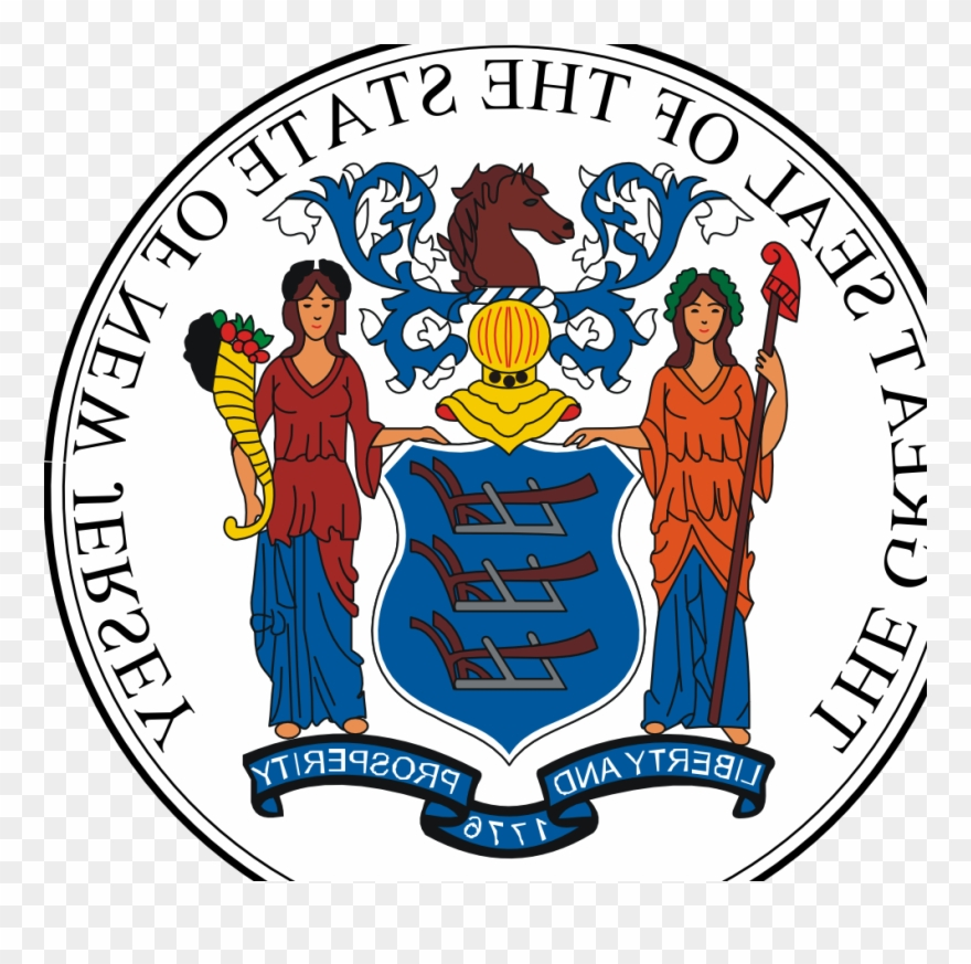 New Jersey State Seal.