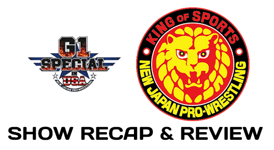 NJPW G1 Special in USA.
