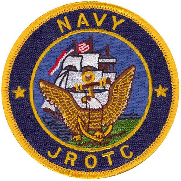 Navy ROTC Patch: Navy JROTC.