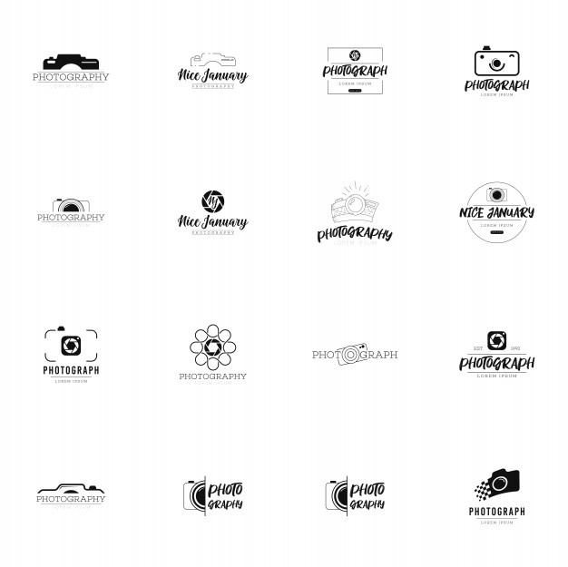 Photography Logo Vectors, Photos and PSD files.
