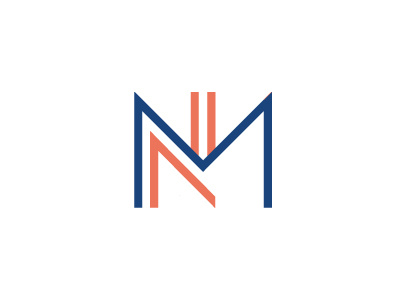 NM Logo by Joel Desrochers on Dribbble.