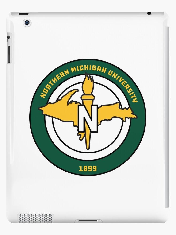 \'Northern Michigan University / NMU Emblem\' iPad Case/Skin by katelinhealey.
