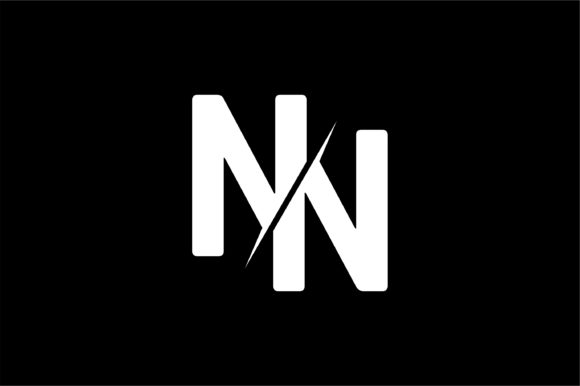 Monogram NN Logo Design.