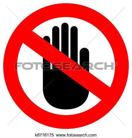 clipart do not #11