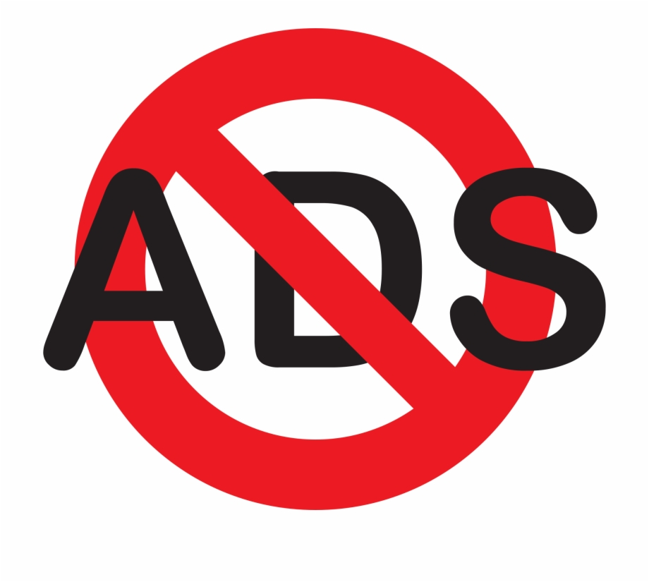 No Ads Png Free PNG Images & Clipart Download #349165.