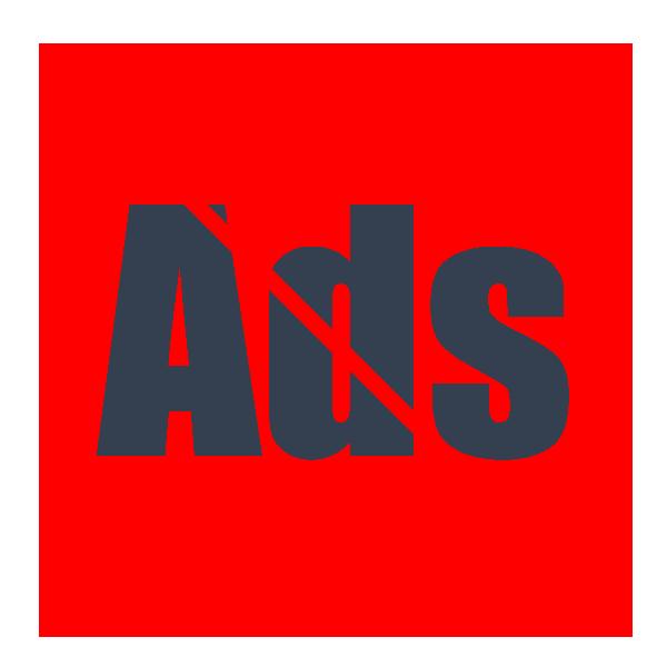 No Ads Icon #114369.