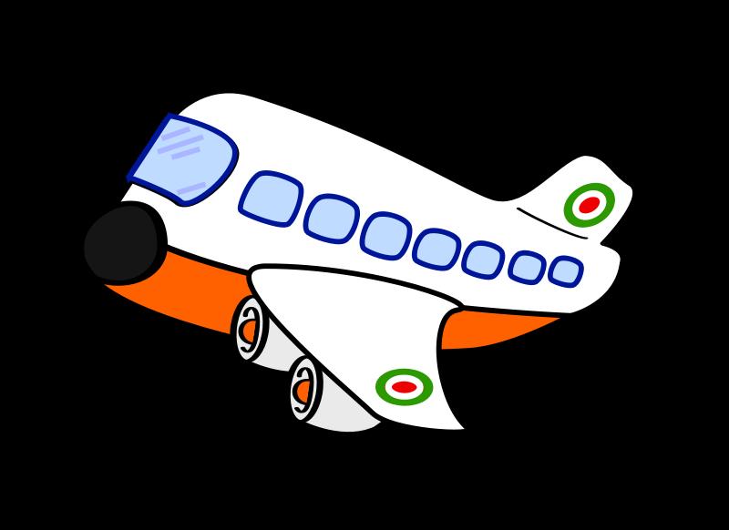 Travel Plane Cliparts.
