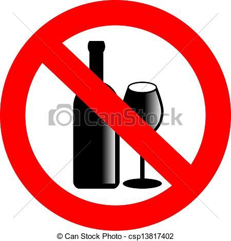 No Alcohol Clipart Free.
